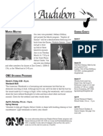 March 2010 Wichita Audubon Newsletter
