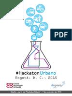 7. Boletín Hackaton Urbano 2015 R