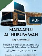 Madarijj Al Nubuwwah