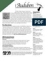 May-June 2010 Wichita Audubon Newsletter