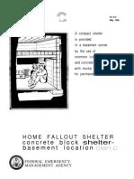 FEMA Fallout Shelter H 12 C