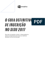 o Guia Definitivo de Inscricao No Sisu 2017
