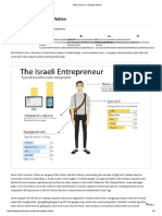 Why Israel is a Startup Nation