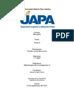 Tarea 2 Medologia II (YAMILKA)