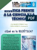 Bioética Frente a La Ciencia y La Técnica
