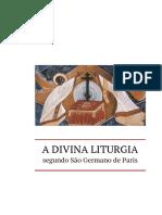 A Liturgia de Sao Germano de Paris