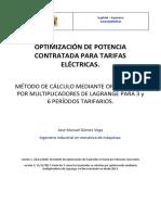 IngeMek - Optimización de Potencia Contratada (Nueva Versión)