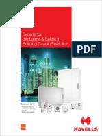 Consumer Switchgear Catalogue