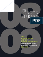 London Library Annual Report 2008- 2009