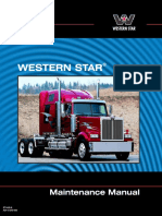 Western Star Maintenance Manual
