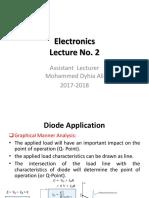 Electronics Lecture No. 2