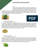Plantas Medicinales y Para Que Sirven (2)