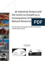 Peak Industrial Output and the Limits to Growth as a Consequence of Depleting Natural Resources and Appendices (ACME) v2