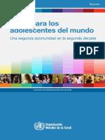 WHO - Salud para los adolescentes en el mundo.pdf