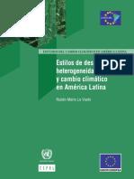 Estilos de Desarrollo, Heterogeneidad Estructural y Cambio Climático en América Latina