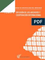 ACTAS DEL XII CONGRESO DE ARCHIVOLOGÍA DEL MERCOSUR. Tomo V