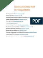 Macrodiscusiones Rm 2017 Usamedic