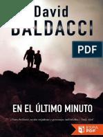 En El Ultimo Minuto - David Baldacci