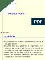 05 1 1 Extremos Teorema Del Valor Medio 2017 1