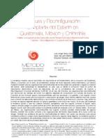 Captura y Reconfiguración Cooptada del Estado en Guatemala, México y Colombia