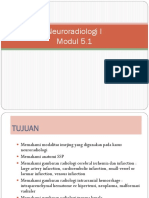 Neuroradiologi 1 Modul 5.1 Dr.sukma