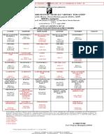 Orario Didattico Settimanale Provvisorio a.a.2017-18