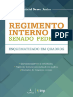 Regimento Interno Do Senado Federal - Gabriel Dezen Junior - 2016