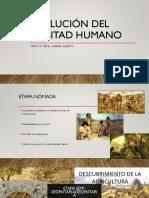 Evolucion Del Habitad Humano