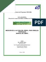 Rainfor Manual de Medicion de Arboles