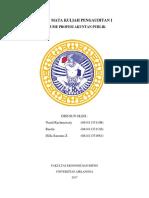 Audit I Pert 1 (CPA)