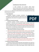 Teori Akuntansi - Pengembangan Teori Akuntansi.docx