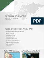 Geologi kelompok 1