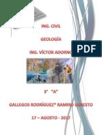 Geología - Ramiro Ernesto Gallegos Rodríguez