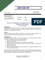 RT06-120 Erratic Low Speeds