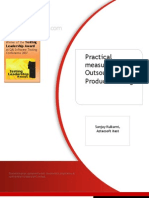Outsourced Product Testing - Practical Measurement