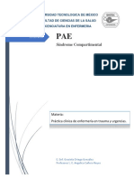 Pae Sindrome Compartimental