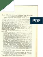 Some Affinities Between Sinhalese and Maldivian - M. W. S De Silva
