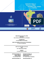 Hepatitis Viral B y Delta en El Peru INS