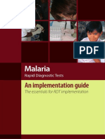Malaria Rdt Implementation Guide2013