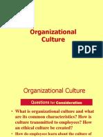 Orgn Culture