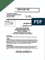 RT26-196 Calypso Intermittant Leak Bleach Nozzle