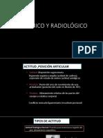 Dx Clínico y Radiológico
