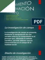 Procesamiento de Información de Campo