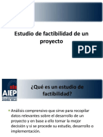 4 - Estudios de Factibilidad