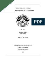 Rekayasa Tambak - Karakteristik Ikan Tambak