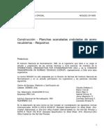 NCh0223-99 Planchas Acanaladas