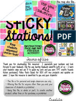 sticky stations