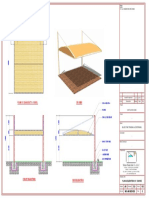 Standard Cantilever Structure Drawing