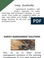 Survey Australia | Survey management solutions | Civil Surveyors Sydney