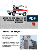 Study on the Process Analysis of Ambulance Services-1